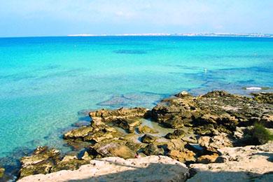 vacanza nel salento, il mare di capilungo