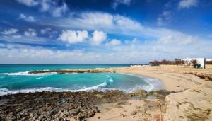 la spiaggia vicino i bilocali mancaversa