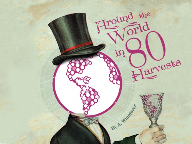 Amanda Barnes - Around the World in 80 Harvest